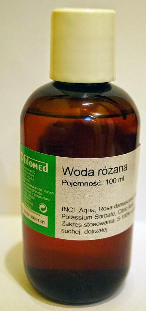 Woda różana z fitomedu - ja po prostu kocham hydrolaty :)