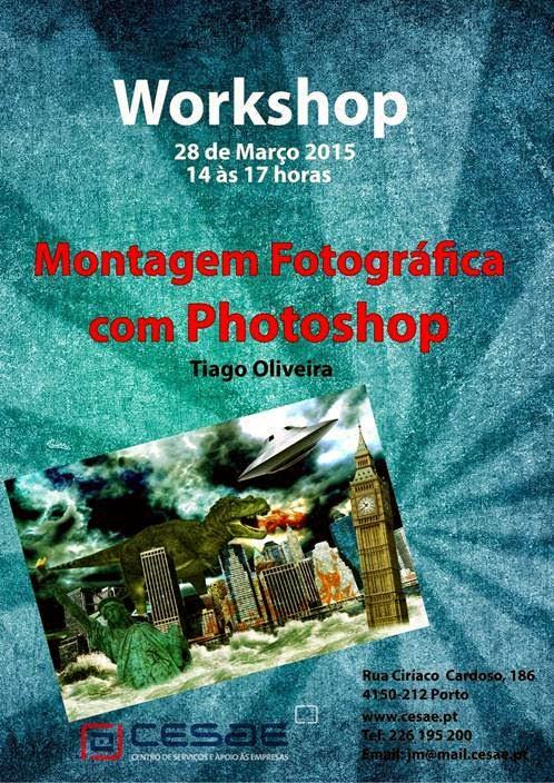 Workshop gratuito de montagem fotográfica com photoshop – Porto