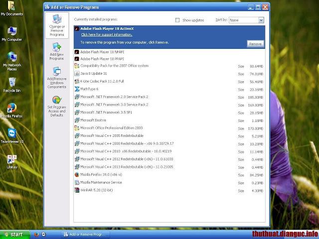 Ghost Windows XP SP3 Đa Cấu Hình