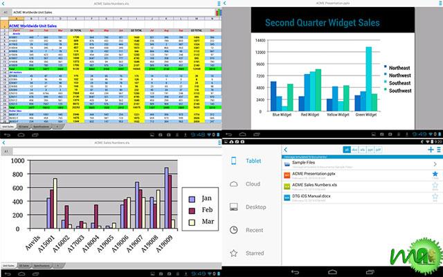 Docs To Go Premium Key apk Screenshot