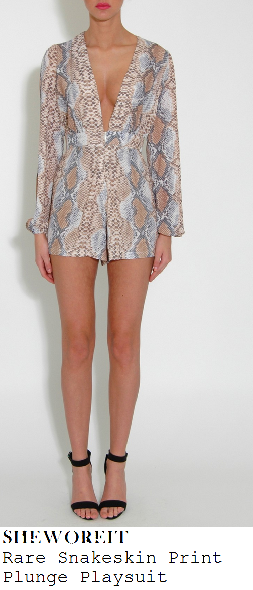 jessica-wright-snakeskin-print-plunge-front-deep-v-necline-long-sleeve-playsuit-marbella