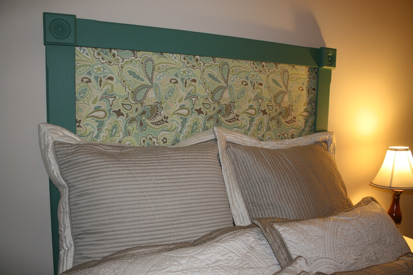 The Prices' Place: Homemade Headboard- Using What You Have!