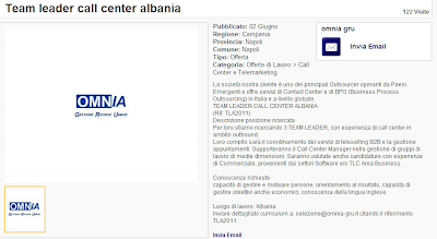 I call center italiani si trasferiscono in Albania