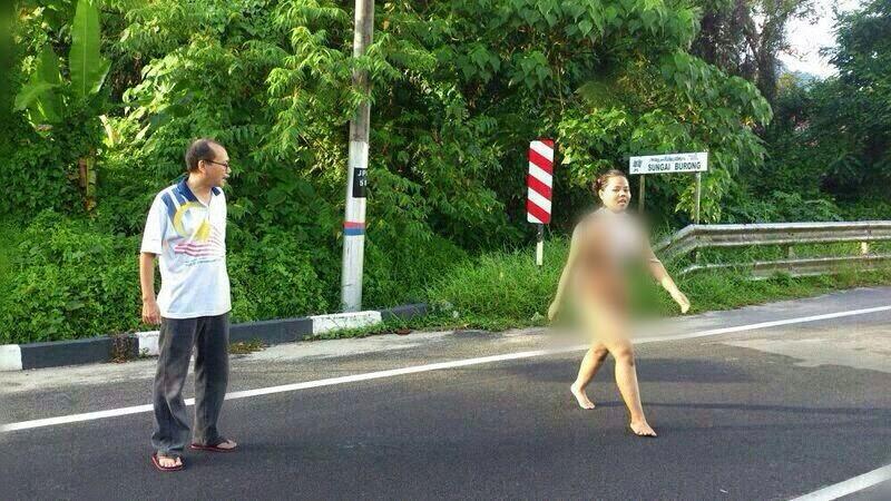 [5 Gambar] Gempar Wanita Tanpa Pakaian Di Balik Pulau
