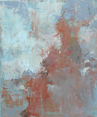 Nordstrom Collection, The Grove, Los Angeles, Letting Go- abstract painting 24 x 20 inches, acrylic on gallery wrap canvas by Karri Allrich
