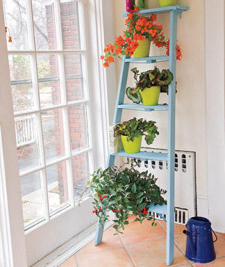 the pretty things diy plant stands. Black Bedroom Furniture Sets. Home Design Ideas