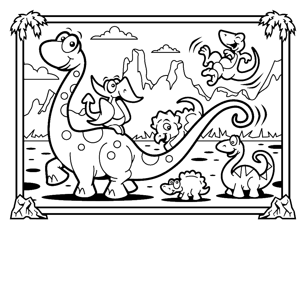 Dinosaur colouring in games - Dinosaur Coloring Filminspector Com