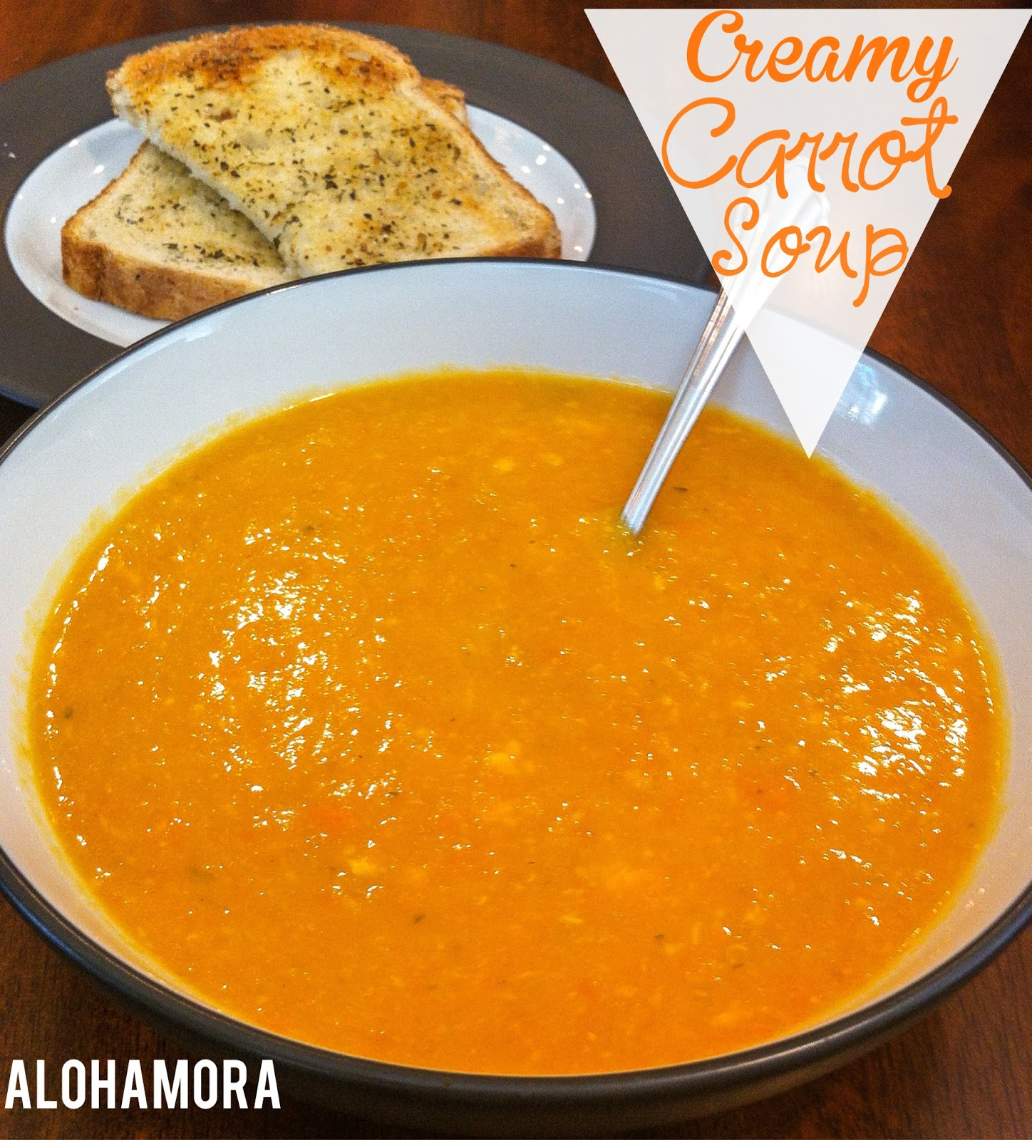 Healthy Creamy Carrot Soup.  Easy crock-pot/slow cooker meal that you can leave all day.  Cheap dinner to make, and one your kids/toddlers will enjoy as much as you.  Babies can enjoy this pureed soup as well.  All around fabulous soup inspired by the book Carrot Soup by John Segal Alohamora Open a Book http://alohamoraopenabook.blogspot.com/