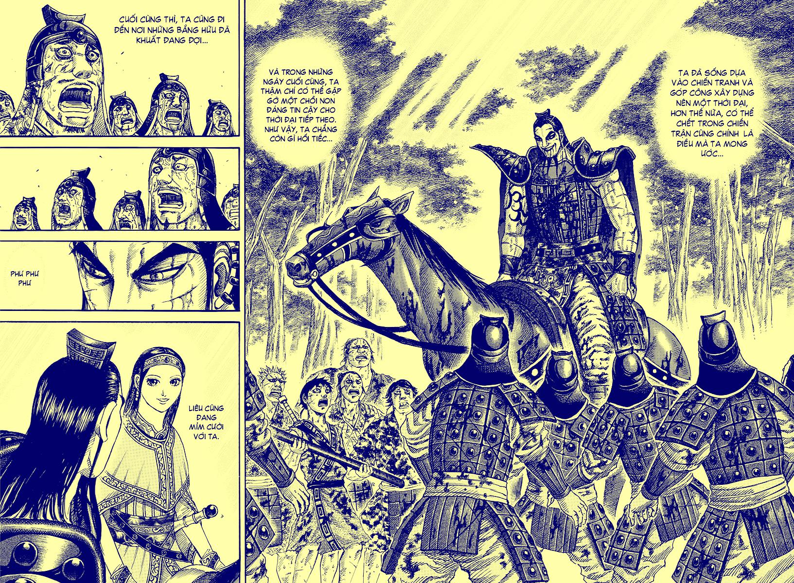 Kingdom – Vương Giả Thiên Hạ chap 499 Trang 25