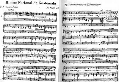 himno nacional mexicano partitura: