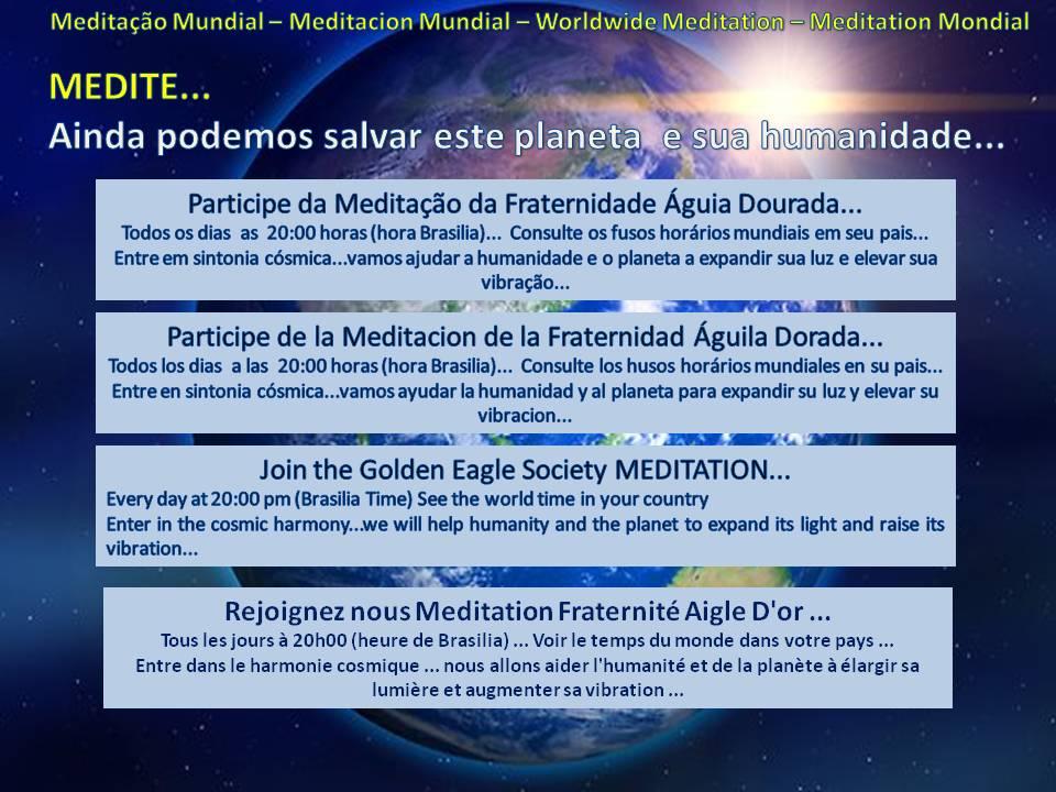 Meditação Mundial - Worldwide Meditation