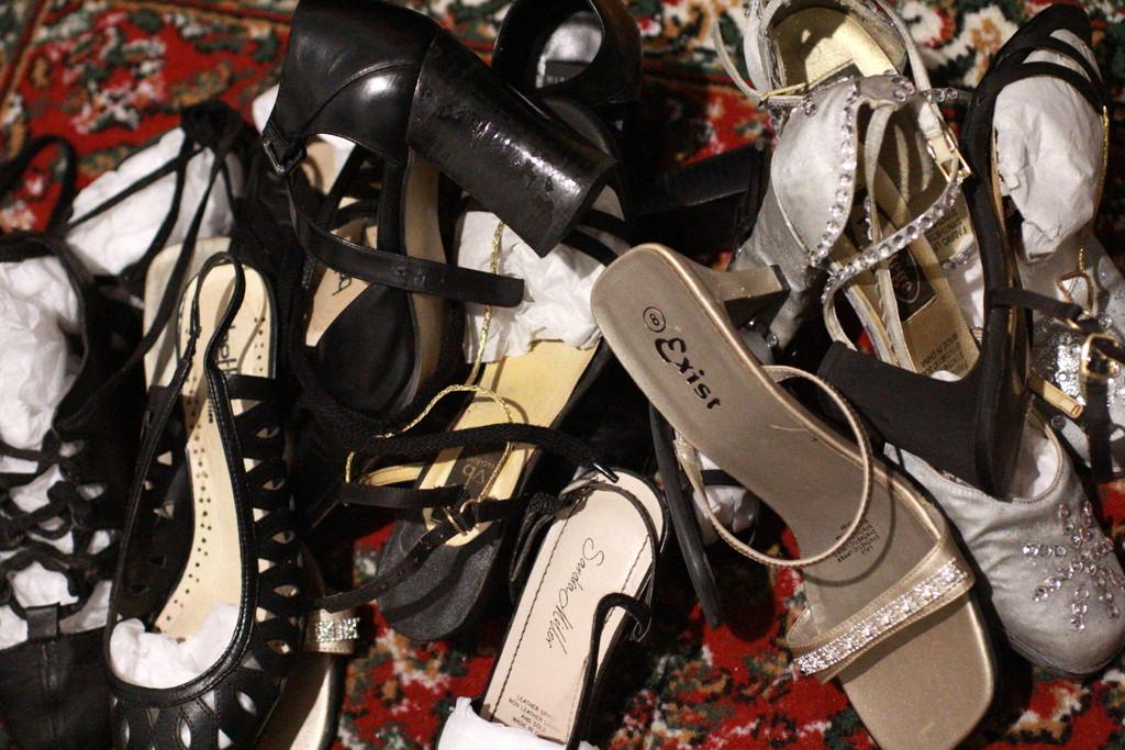 shoe problem shoe clutter