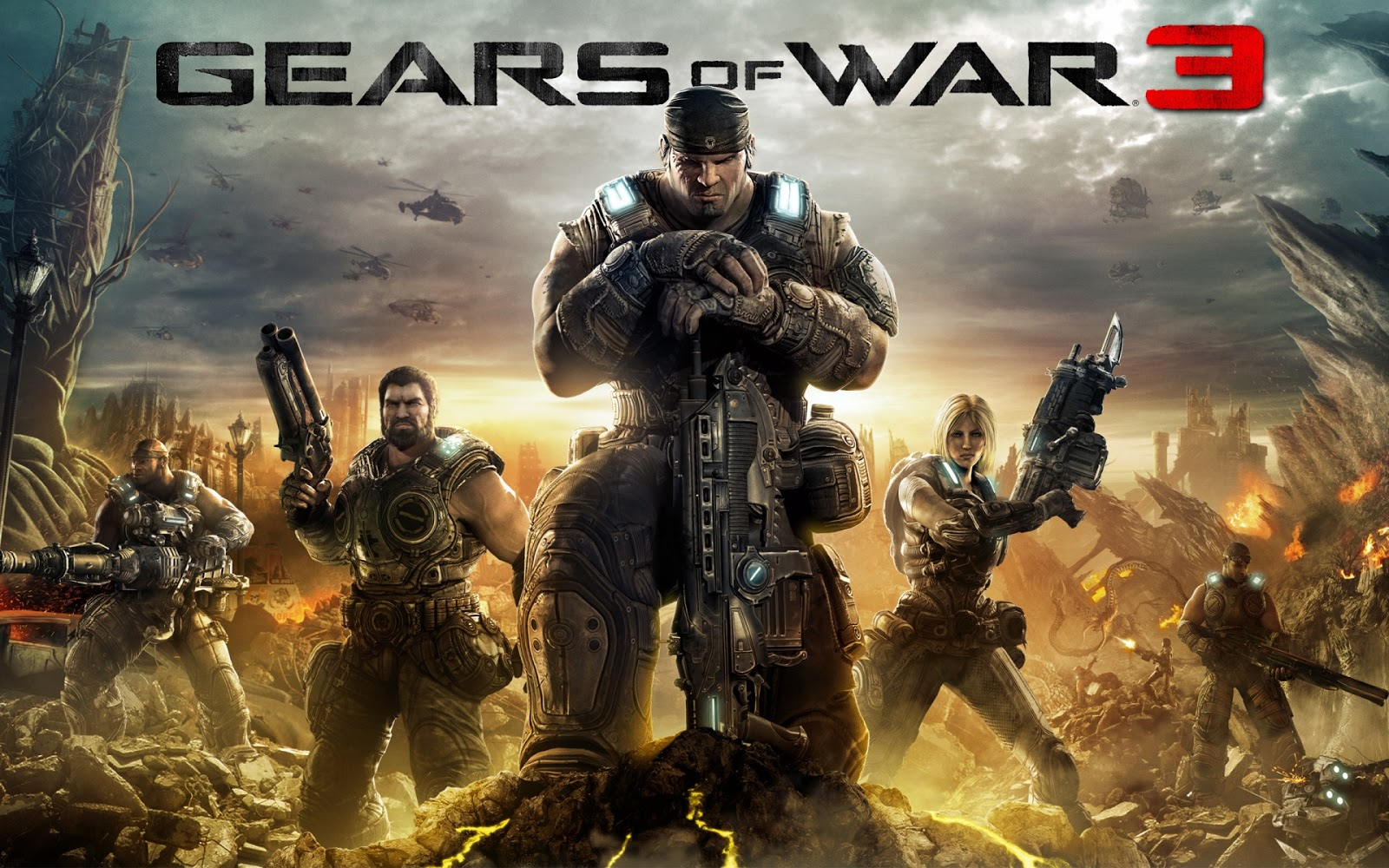 Gears of War 3 Game
