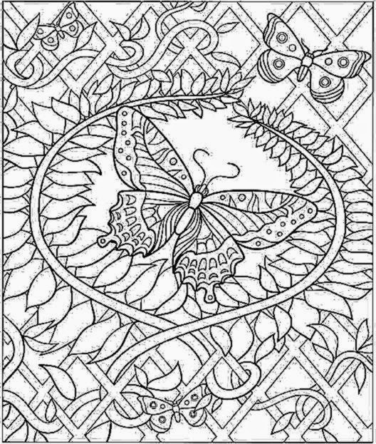 Difficult Color By Number Coloring Pages For Adults Coloring Pages For Seniors