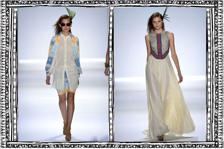Mara Hoffman, 'Aloha!', NYFW, SS/2013, ethnic prints, polynesia fever, hawaiian style, ethnic style, globally inspired fashion,