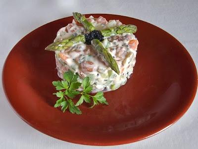 La gastrocinemia ensaladilla de jud as pintas con queso - Ensalada de judias pintas ...