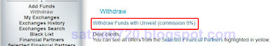 withdraw uinvest1