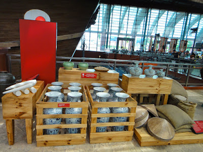 Trading goods showcase at the Maritime Experiential Museum Sentosa