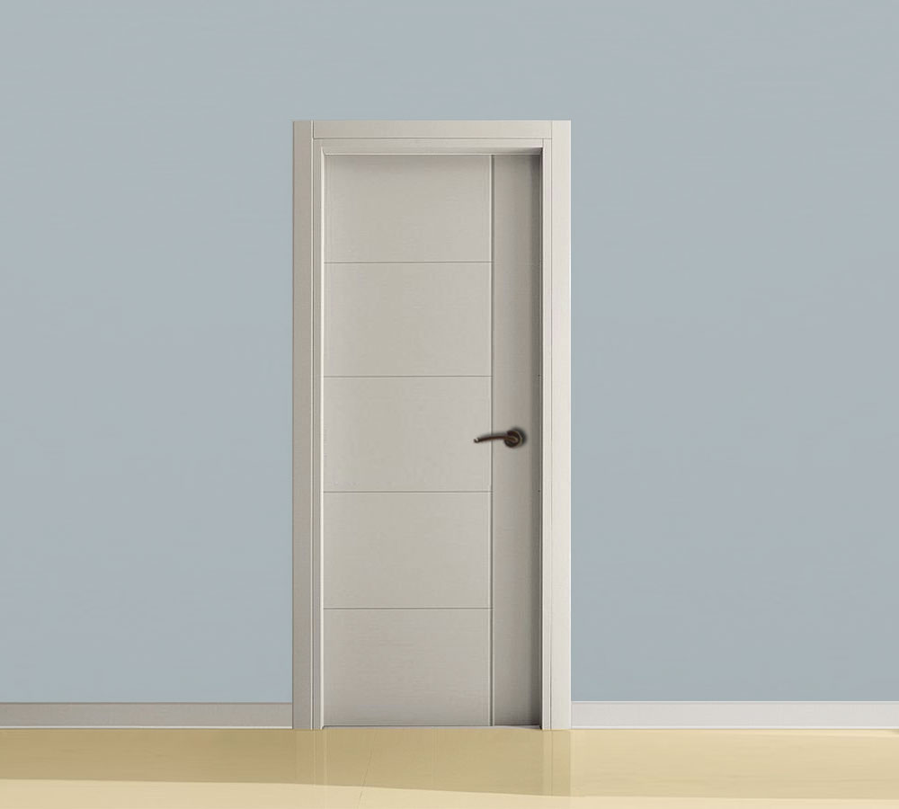 puertas correderas las puertas lacadas en blanco
