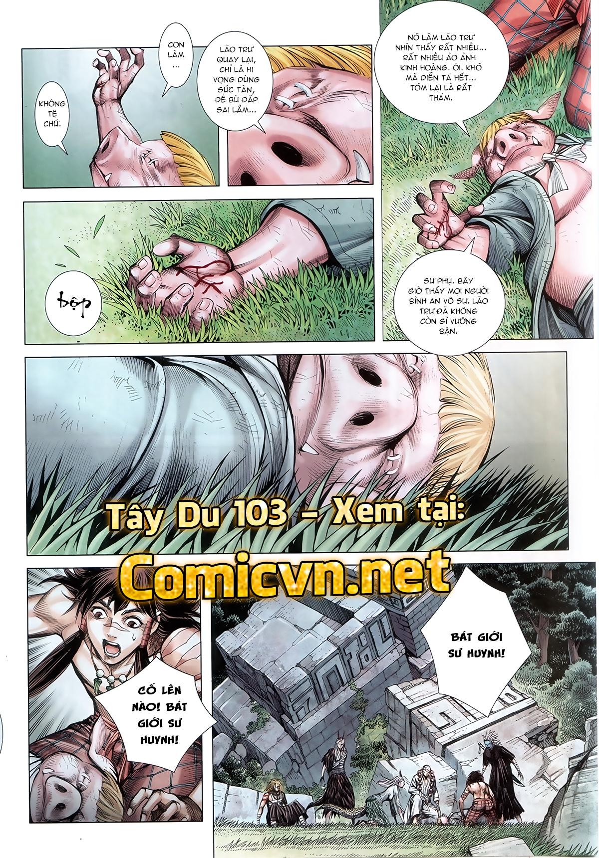 Tây Du Ký dị bản chap 29 Trang 14 - Mangak.info