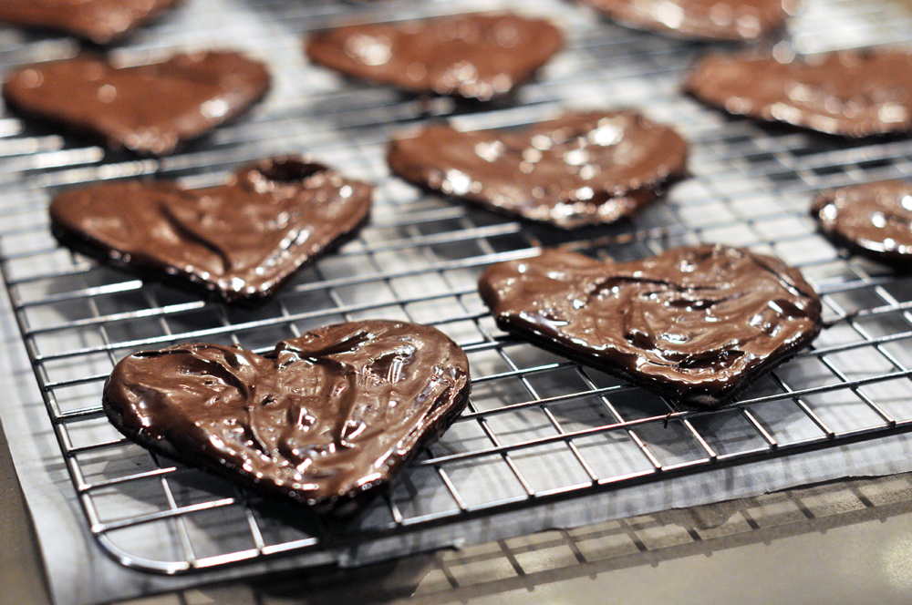 Love American Style- Girl Scout-esque Chocolate Mint Cookies