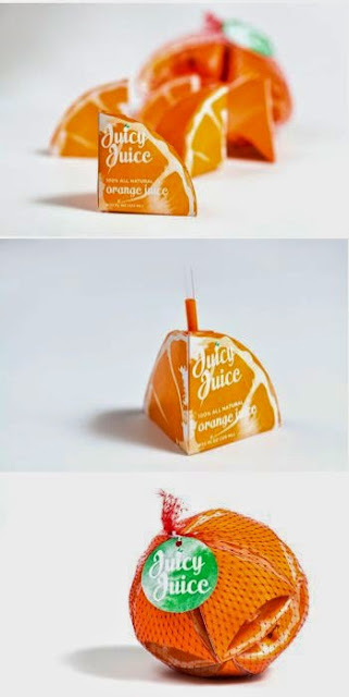 Inspiration Iscomigoo Webdesign: Packaging Orange