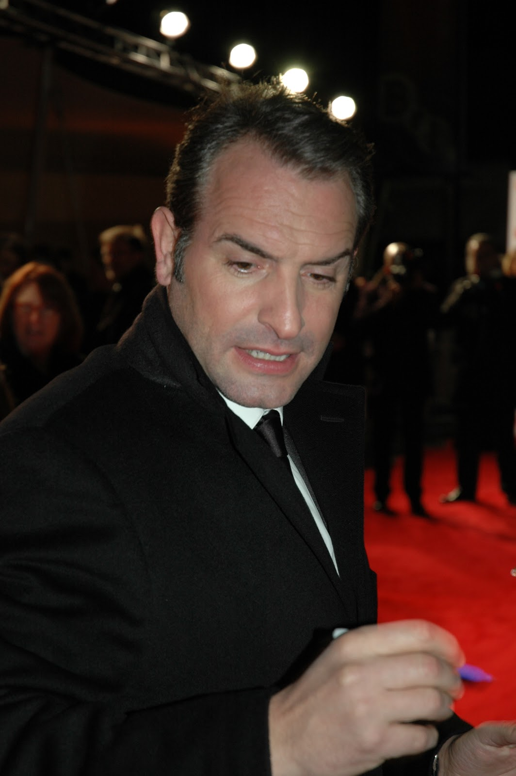 Premiere scene 32nd london film critics circle awards 2012 for Dujardin nicolas