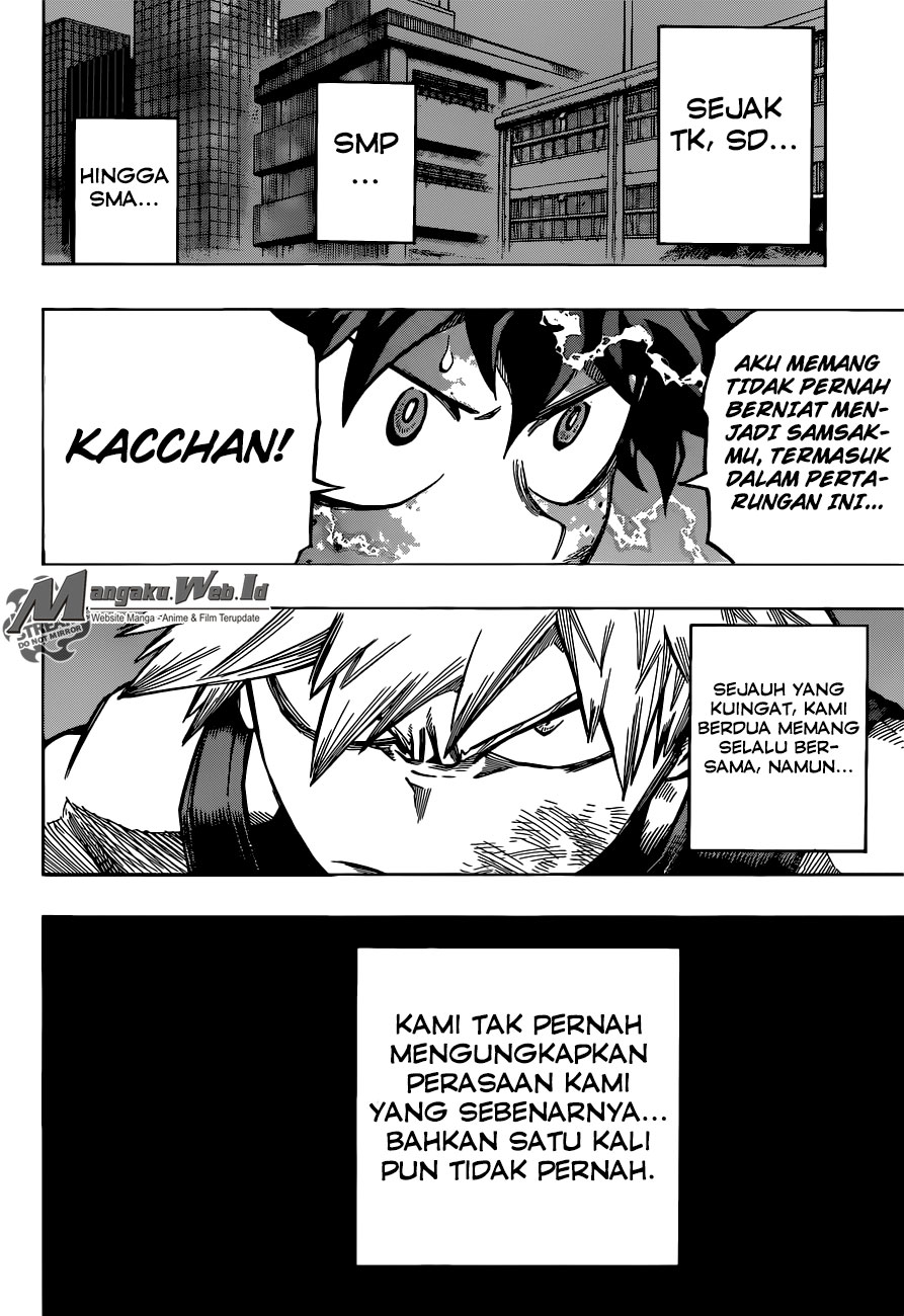 Boku no Hero Academia Chapter 119-2
