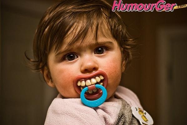Image bébé rigolo