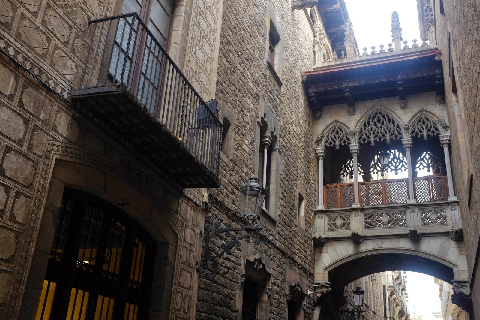 Barri Gòtic (Gothic quarter) Barcelona