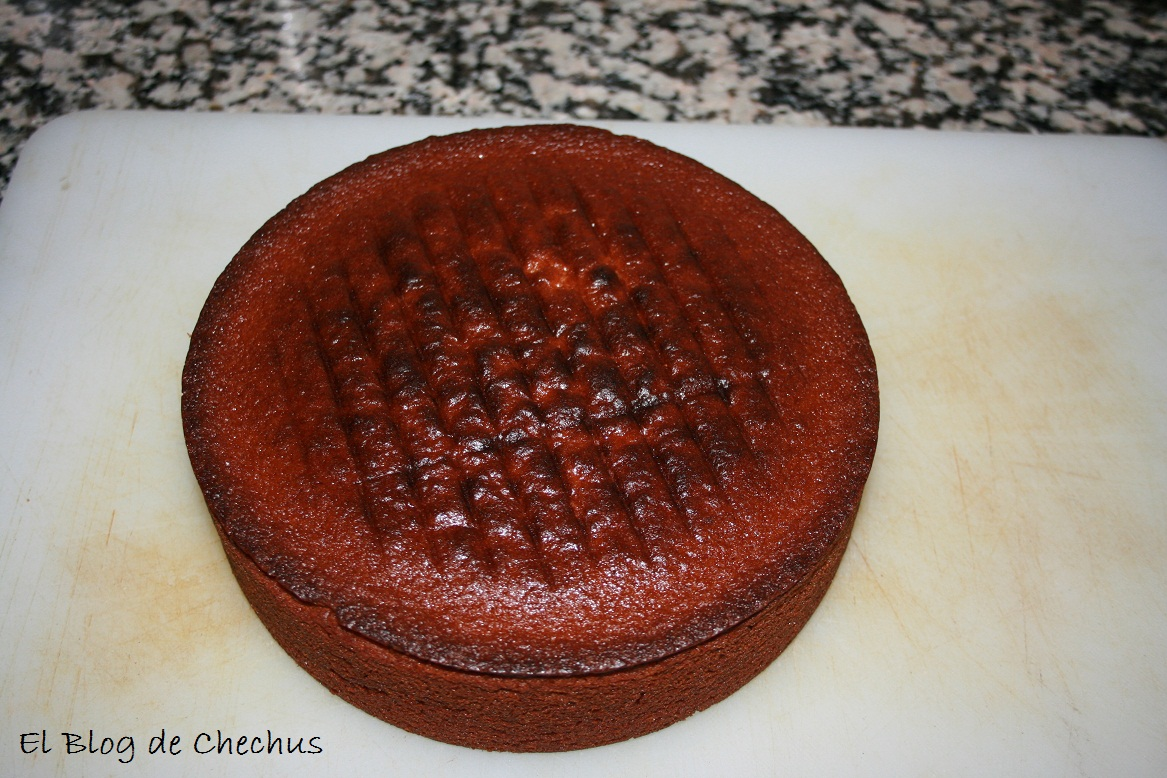 elblogdechechus, chechus cupcakes, tarta de kitkats