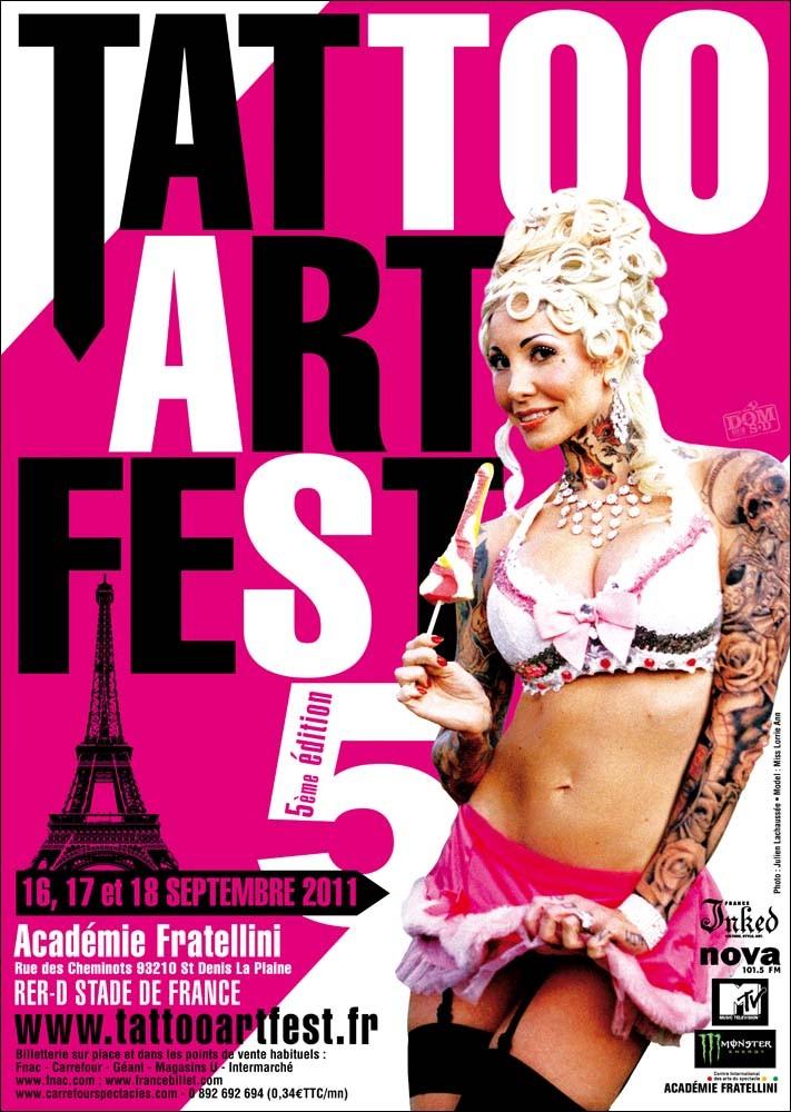 ARTISTES MONDIAL DU TATOUAGE 2016 - meilleur salon de tatouage
