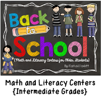 https://www.teacherspayteachers.com/Product/Back-to-School-Math-and-Literacy-Centers-for-Older-Students-302575
