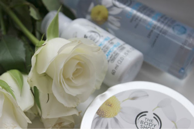 The Body Shop Camomile Cleansing Range