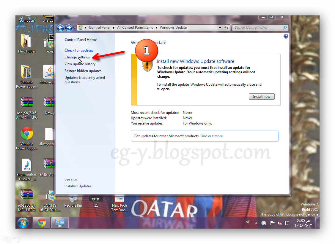 how to cancel pending updates in windows 7