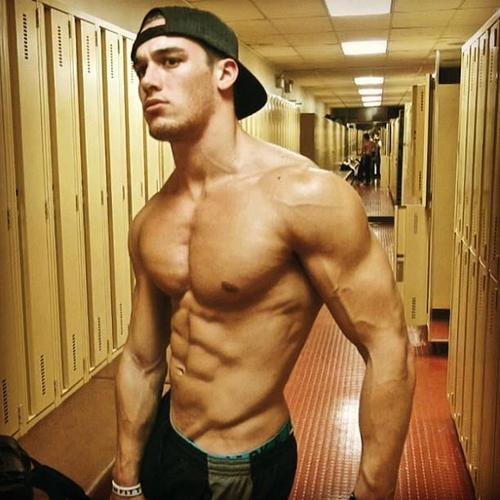 naked bodybuilders in dressing room