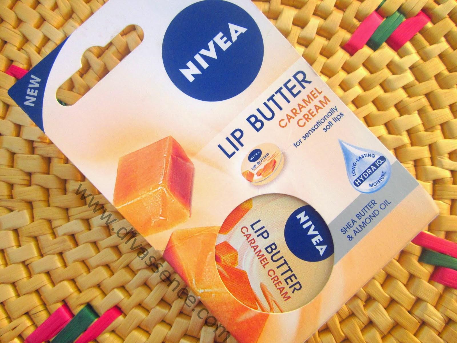 Nivea Lip Butter In Caramel Cream Review Swatch Divassence