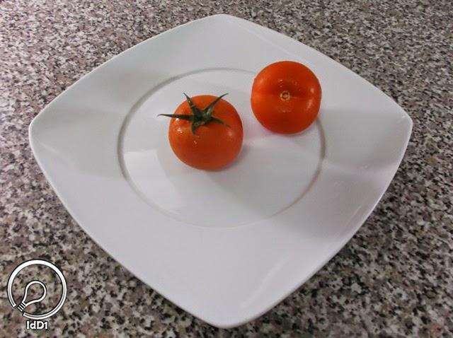 Tomate - Salada caprese com queijo fresco - Ideia do Dia 1