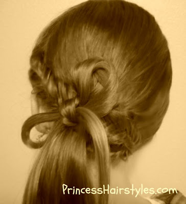 instagram fishtail hair bow hairstyle tutorial