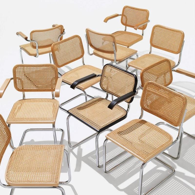 sillas clásicas del diseño industrial