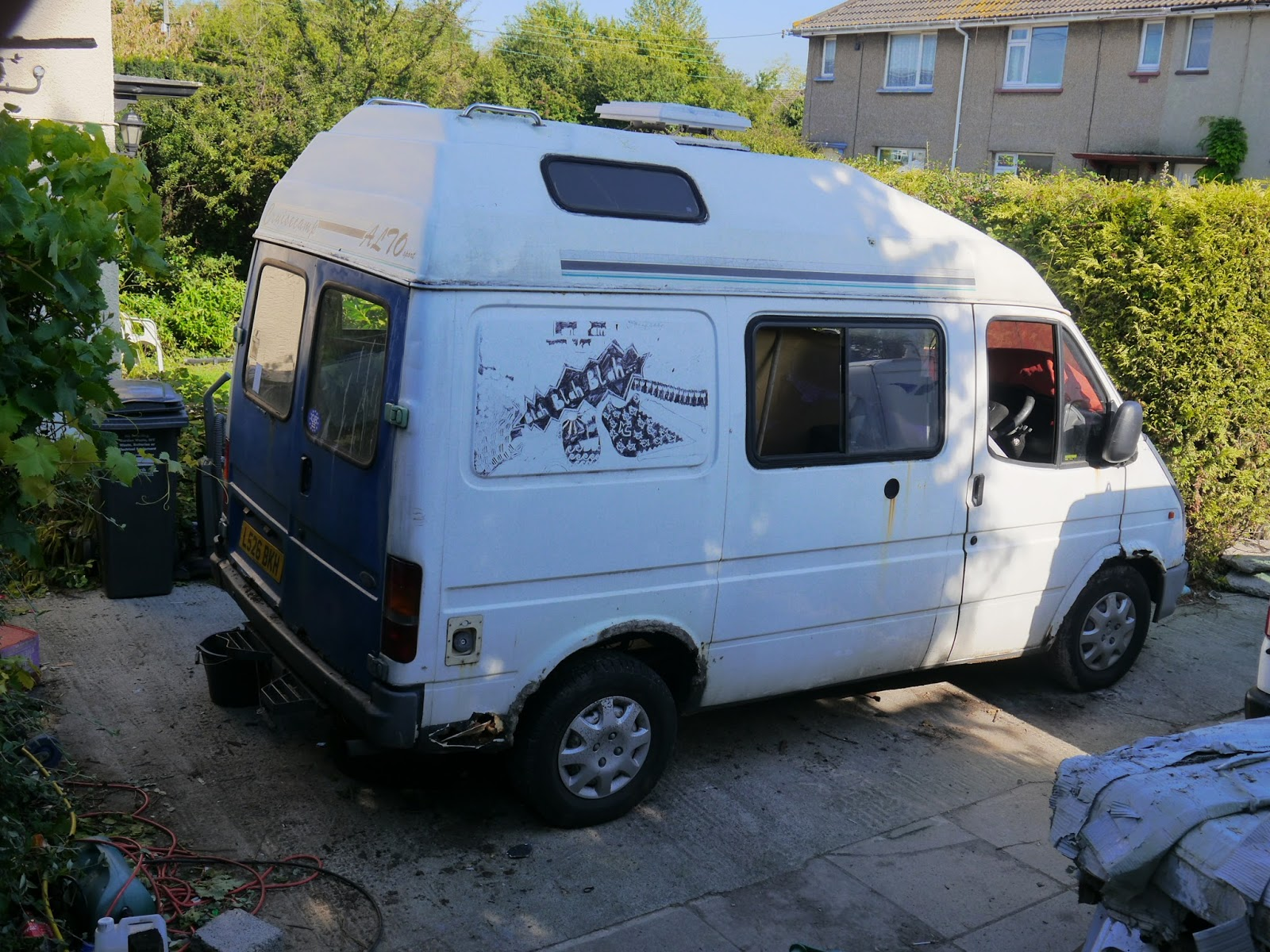 Follow Me Along My Journey As I Restore An Old Ford Transit Camper Back To Working Condition And Design A New Interior For It