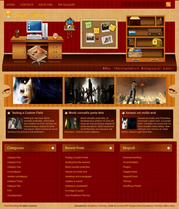 Design Office WordPress Theme
