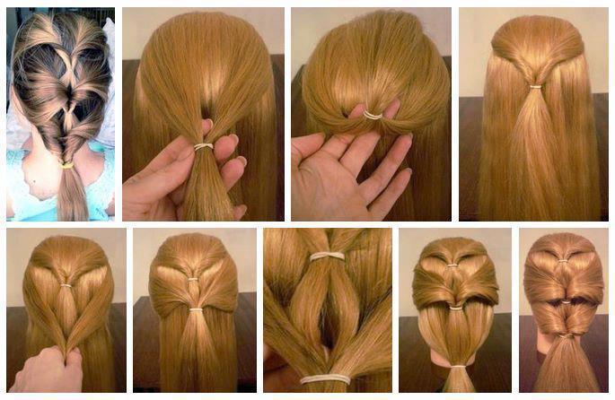 Как сделать причёску для куклы поэтапно