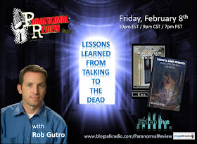 Rob appeared as a Guest of Paranormal Review Radio 2/8/13