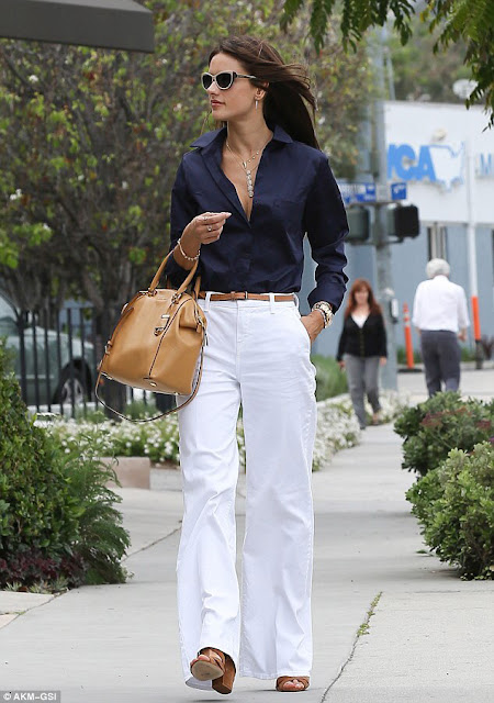 Model Off Duty - Alessandra Ambrosio