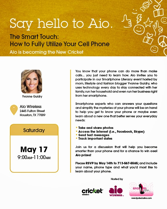 Join Me on Saturday at Aio's Phone Literacy event