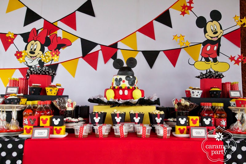 Todo para tus fiestas decoraci n fiesta mickey mouse for Decoracion para todo