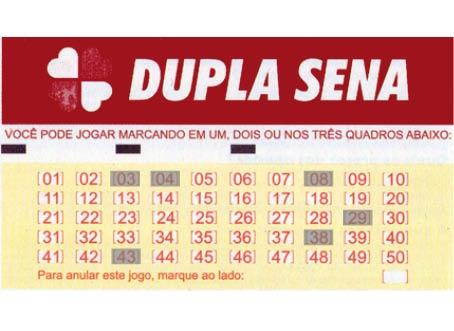 Dupla-Sena Concurso 1.406 acumula e pagará mais de R$ 4,3 milhões. Quina não tem acertador