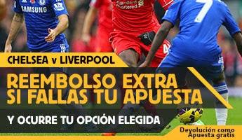 Betfair reembolso 25€ Chelsea vs Liverpool – 10 mayo