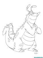 Mewarnai Gambar Alligator Merayu Pasangannya